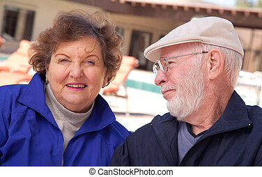 Senior Adult Couple