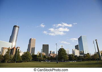 Atlanta Georgia skyline.