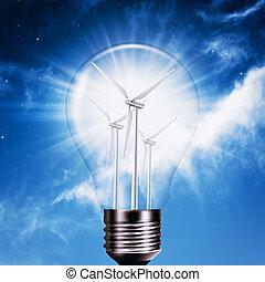 generation, Energie, Hintergruende, Umwelt, neu, Abstrakt