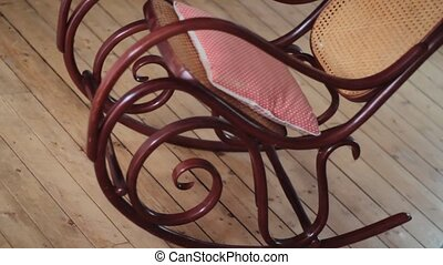 Rocking chair rocks - a fine vintage rocking chair is...