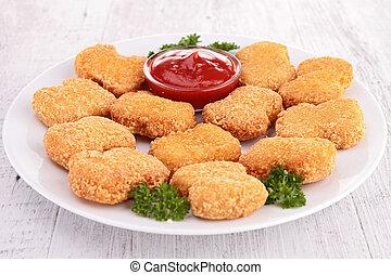 pollo, Pepitas