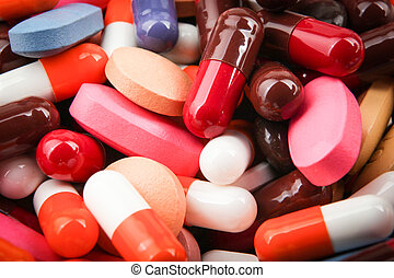 pills and capsules.