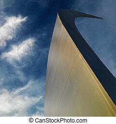 Air Force Memorial. - Spire of Air Force Memorial in...