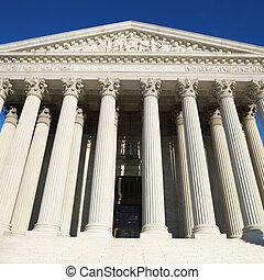 suprême, tribunal, bâtiment