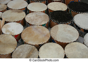 Handmade Drums - Handmade drums for sale in the outdoor...