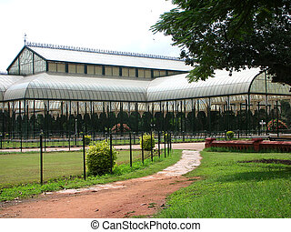 Famous Monument of Bangalore - The famous Glass House at the...