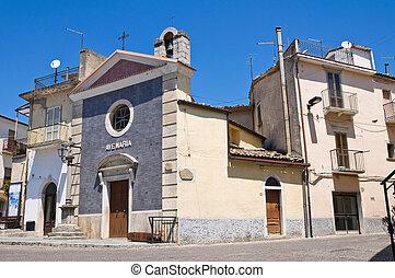 CROCE, valfortore, Italia, roseto, Puglia, cappella, della...
