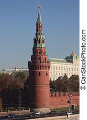 Kremlin Water-platoon tower - Moscow Kremlin Water-platoon...