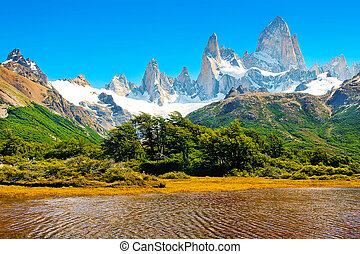 Beautiful landscape in Patagonia
