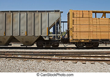 Freight Transportation - The many means of transporting the...