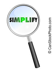 SIMPLIFY ocon - SIMPLIFY magnifying glass