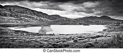 Landscape on Isle of Mull, Scotland - Dramatic landscape...