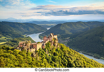 Landscape in Wachau, Austria - Beautiful landscape with...