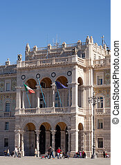 Government House in Trieste - View of Government House in...