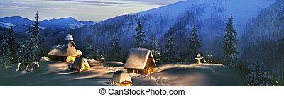 Church Rogneski - Rogneski Church in the far corner of the...