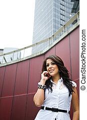 Hispanic businesswoman - A shot of a beautiful hispanic...