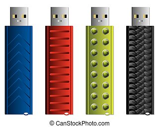 Various USB sticks set 4