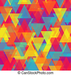 Vector of abstract triangle backgro