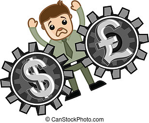 Loss in Currency Exchange Business