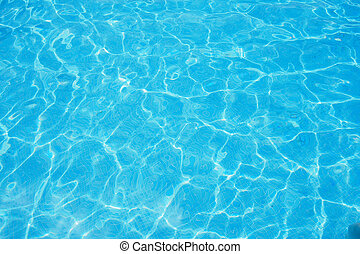 Swimming pool, crystal clear water - Swimming pool, water...