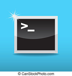 Terminal startup icon, direct access to system via command...