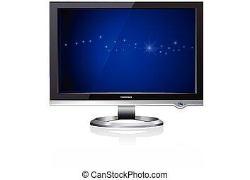 Computer Flat LCD Monitor Display - Computer Flat LCD Plasma...
