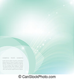 Blue water with bubbles background Vector illustration for...