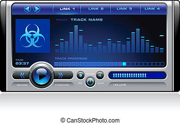 Mp3 Media Music Player - Mp3 Media Music Stereo Computer...