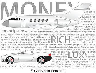 Rich background