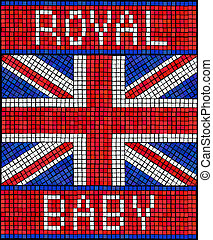 Royal Baby  mosaic