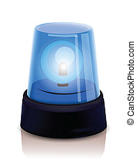 Blue Police beacon