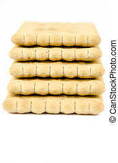 Bakery - Stack of classic biscuits