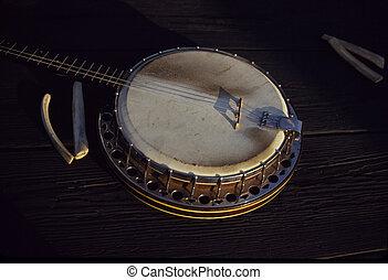huesos,  banjo