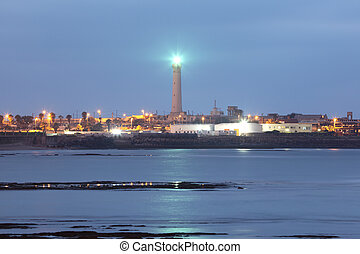 Lighthouse in Casablanca, Morocco, North Africa