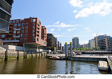 HafenCity in Hamburg, Germany - HafenCity is a project of...