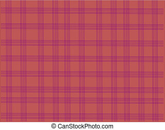 Tablecloth check pattern
