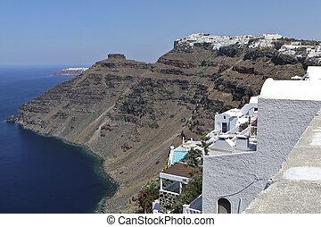Firostefani, Santorini - Firostefani on the edge of the...