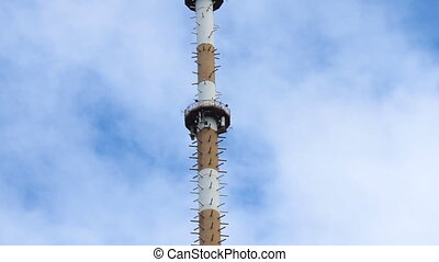 TV transmitter tower in Kyiv