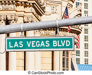 Las Vegas Strip - A view of Welcome to Fabulous Las Vegas...