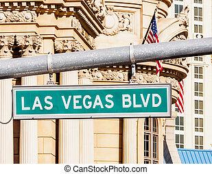Las Vegas Strip - A view of Welcome to Fabulous Las Vegas...