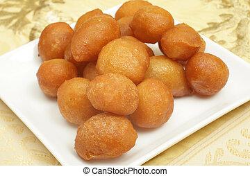 Awama ramadan cakes - Awama or awamat, Middle Eastern...