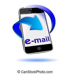 cellphone email symbol