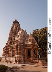 Parshwanath temple at Khajuraho, India - Temple of the...