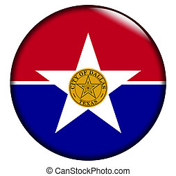 Dallas Flag Button