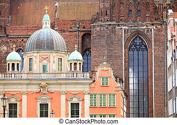 Royal Chapel and St Marys Basilica Gdansk Poland - Royal...