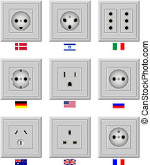 AC power sockets