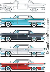 Classic Cars - 60s - part of collections of Car body style....
