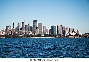 Sydney city view Australia - View on the Sydney city center...