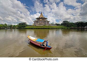 kuching,sarawak - Taken at midday