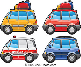 minivan, ambulance car - minivan - part of my collections of...